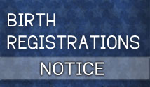 birth registration notice