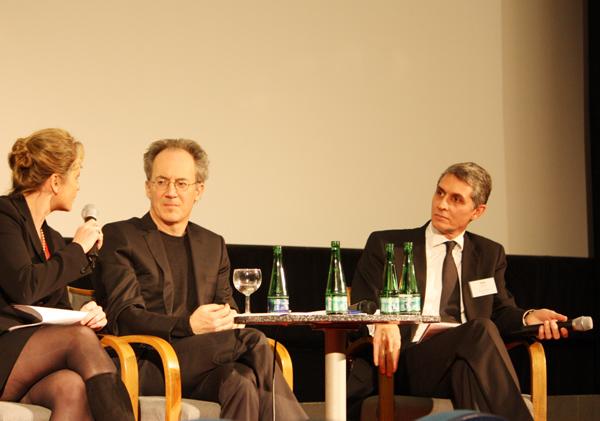 Susanne Koelbl, James Der Derian, Mitchell Moss