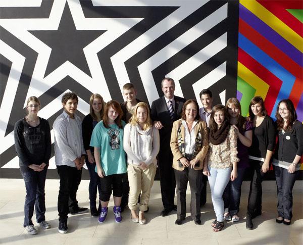 Gruppenfoto Community Service Programm