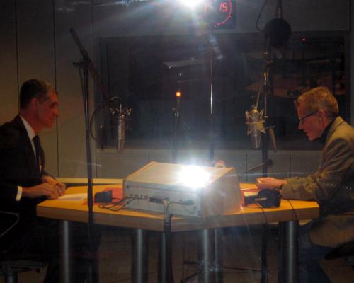 Mitchell Moss im Gespräch mit Christoph Heinemann