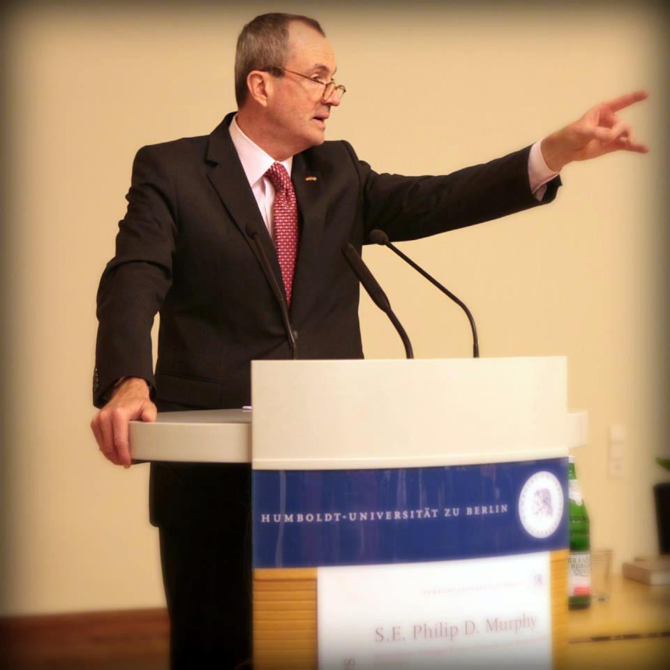 Botschafter Murphy an der Humboldt-Universität